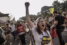 Portal Galdinosaqua: Milhares de pessoas na Av Paulista no ForaTemer