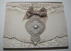 Stampin Up Vintage Ornaments Christmas Card Kits $16.00