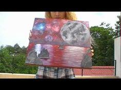 Nebulae paintings