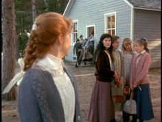 """Anne of Green Gables- losing Diana's friendship. """"Fare thee well, my beloved friend. Henceforth we must be as strangers though living side by side. But my heart will ever be faithful to thee."""""""