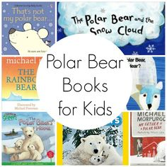 Polar Bear Books for Kids – Crafty Kids at Home Do your kids love polar bears? Take a look at our selection of polar bear books for kids to enjoy during the winter holidays. Preschool Literacy, Preschool Books, Preschool Lessons, Literacy Activities, Preschool Winter, Preschool Ideas, Artic Animals, Wild Animals, Baby Animals
