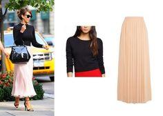 b9fa64dbf57ea Six Ways To Stretch A Summer Wardrobe Through Fall - Mix shrunken knits and  maxi skirts