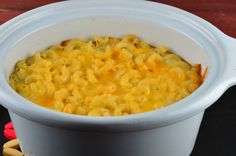 Makeover Light Slow-Cooked Mac 'n' Cheese Crock Pot