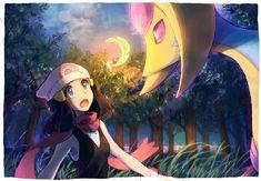 Dawn and Cresselia #pokemonmemes