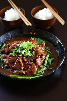 Sichuan Beef - dang that's delicious