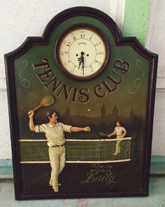 Antique tennis art Tennis wall decor Tennis gift Tennis decor Tennis wall art Tennis room Tennis club sign Tennis sign Gift for coach Sport Wimbledon Tennis Club, Tennis Gifts, Tennis Clubs, Cnc Projects, Pub Bar, Wall Decor, Wall Art, Vintage Home Decor, Sport