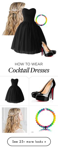 """""""Black Tie Event"""" by amberwazhere on Polyvore featuring Christian Louboutin"""