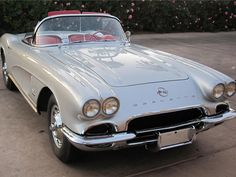 1962 Corvette. My husband and I had this exact car. Entered it in many car shows, always a winner!!!!
