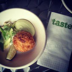 Rapukakkua ja fenkolia  Taste of Helsinki 2014