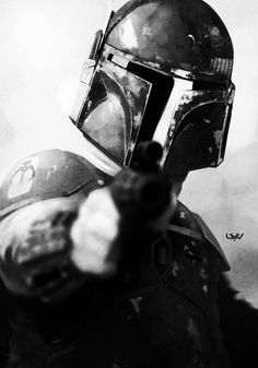 Boba Fett:  i know I would be disappointed if he took his helmet off but still.  Boba Fett is hot.