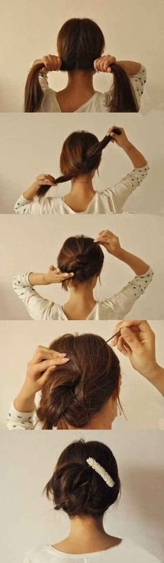 Lazy Girl Hairstyle Hacks