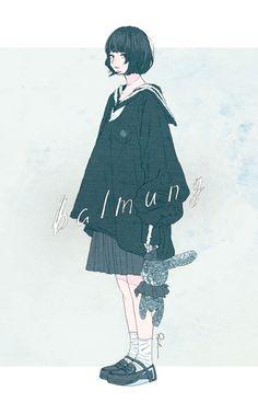 images like anime art Anime Art Girl, Manga Girl, Anime Manga, Anime Girls, Character Inspiration, Character Art, Character Design, Aesthetic Art, Aesthetic Anime