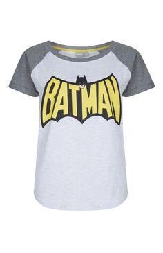 Primark - Camiseta de manga raglán de Batman