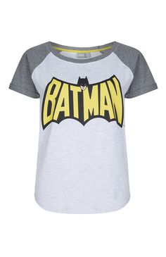 T-shirt Batman à manches raglan