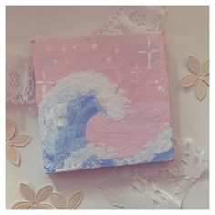 Small Canvas Paintings, Small Canvas Art, Cute Paintings, Mini Canvas Art, Acrylic Painting Canvas, Popular Paintings, Diy Canvas, Canvas Tent, Canvas Frame