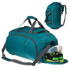 TFONE Muisc Electric Guitar Duffel Bag Sports Gym Weekend Bags with Shoe Compartmen