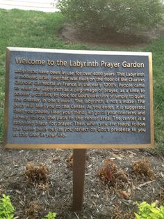 Prayer Labyrinth | Prayer Labyrinth information