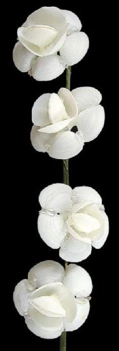 Белый Кэй Кэй Цветок Стебель 10 O1-32