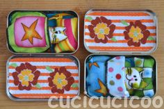Upcycle a mint tin into a mini bed complete with mattress, pillow, sheet and, of course, tiny animal friend to live in it! A fun toy for kids of all ages!
