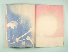 Mel Nguyen . on reading (bleach on construction paper)