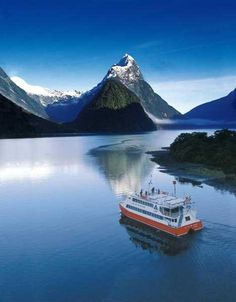 Milford Sound, South Island, New Zealand - Photographer Unknown