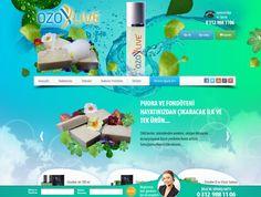 Ozoxlive Satış ve Tanıtım Sitesi Tamamlanmıştır.