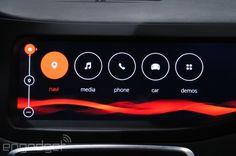 QNX Car platform on Mercedes-Benz CLA45 AMG
