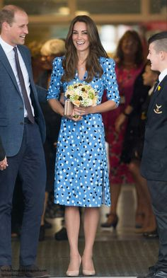 The duke and duchess back to school 16 sep 2016
