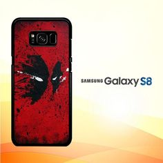 Deadpool Mask V0390 Samsung Galaxy S8 Case