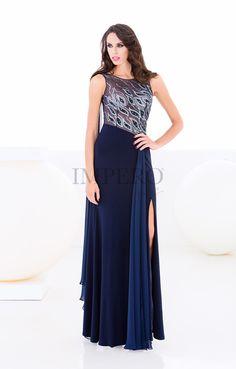 GN 2015-30  abiti  dress  wedding  matrimonio  cerimonia  party  event   damigelle  blu  blue. Impero Couture c79a0f5cd079
