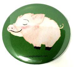 Itty Bitty Pig Cute