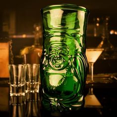 Lucky Buddha Beer Glass at Firebox.com - gift for hubby