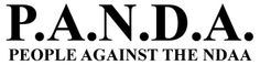 ❥ P.A.N.D.A. People Against The NDAA~