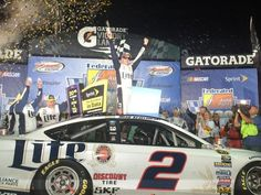 Brad with his 4th win at Richmond.
