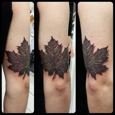 40 Best Maple Leaf Tattoo Images Maple Leaf Tattoo Tattoos Cool Tattoos