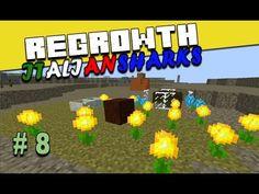 Regrowth ITA Minecraft Ep 8 - Un pizzico di magia - #minecraftita