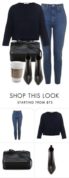 """Untitled #7126"" by laurenmboot ❤ liked on Polyvore featuring Topshop, Givenchy, Acne Studios, men's fashion and menswear"