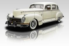 1946 Hudson Commodore White..Re-Pin Brought to you by #CarInsurance Agents at #HouseofInsurance in Eugene