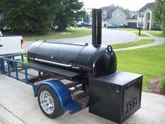 how to make smoker out of propane tank Bbq Smoker Trailer, Bbq Pit Smoker, Bbq Grill, Custom Bbq Smokers, Custom Bbq Pits, Smoker Cooker, Smoking Cooking, Smoker Designs, Best Charcoal Grill