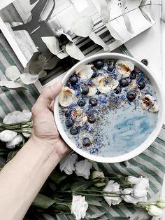 Blue Breakfast. ~ ARTEM85WAYS