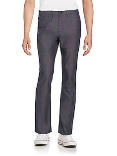 English Laundry Straight-Leg Jeans - Black Oxford - Size 3