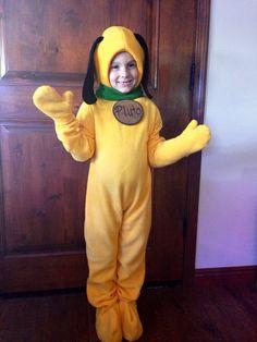 Pluto Fleece Dog Costume Children's by PatchworkLuxury on Etsy