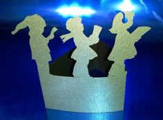 DIY little carolers standing place cards set of by hilemanhouse