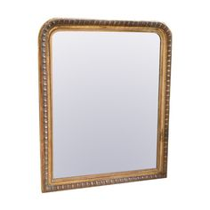 Large 19th Century overmantle mirror