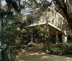 LINA BO BARDI - HOUSE OF GLASS, SÃO PAULO  1951
