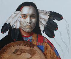 fine oil native american paintings   native American   K.Henderson Art   Page 3