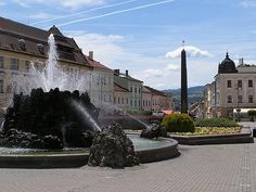 Stary Mesto (Lit. Old Square) Banska Bystrica, Slovakia. Nice to see it hasn't changed much since 1990.