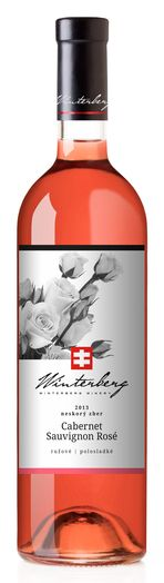 In stock - 10,28 € 2013 Winterberg Cabernet Sauvignon Rosé, rose semi-sweet , Slovakia