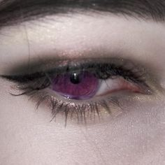 eyes, purple, and gothic image Aesthetic Eyes, Purple Aesthetic, Aesthetic Poetry, Grunge, Catty Noir, Yennefer Of Vengerberg, Ex Machina, Character Aesthetic, Makeup Inspo