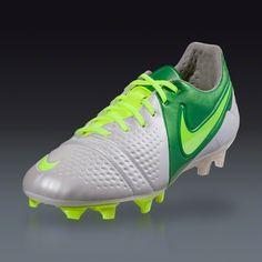 Nike CTR360 Maestri III FG - ACC - White Volt Pine Green Firm Ground 7ce8dc165f55f